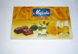 Ciocolata Majestic cu rom