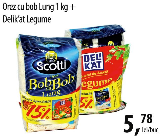 Orez bob lung + Delikat