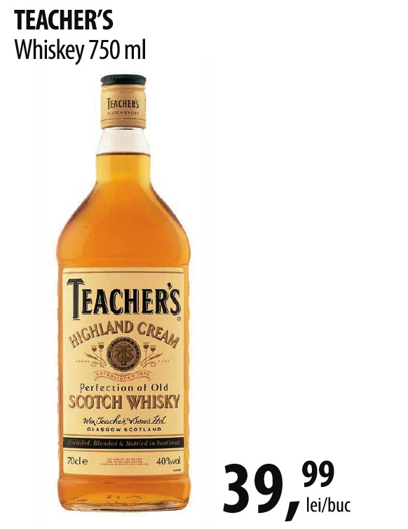 Teacher's Wiskey